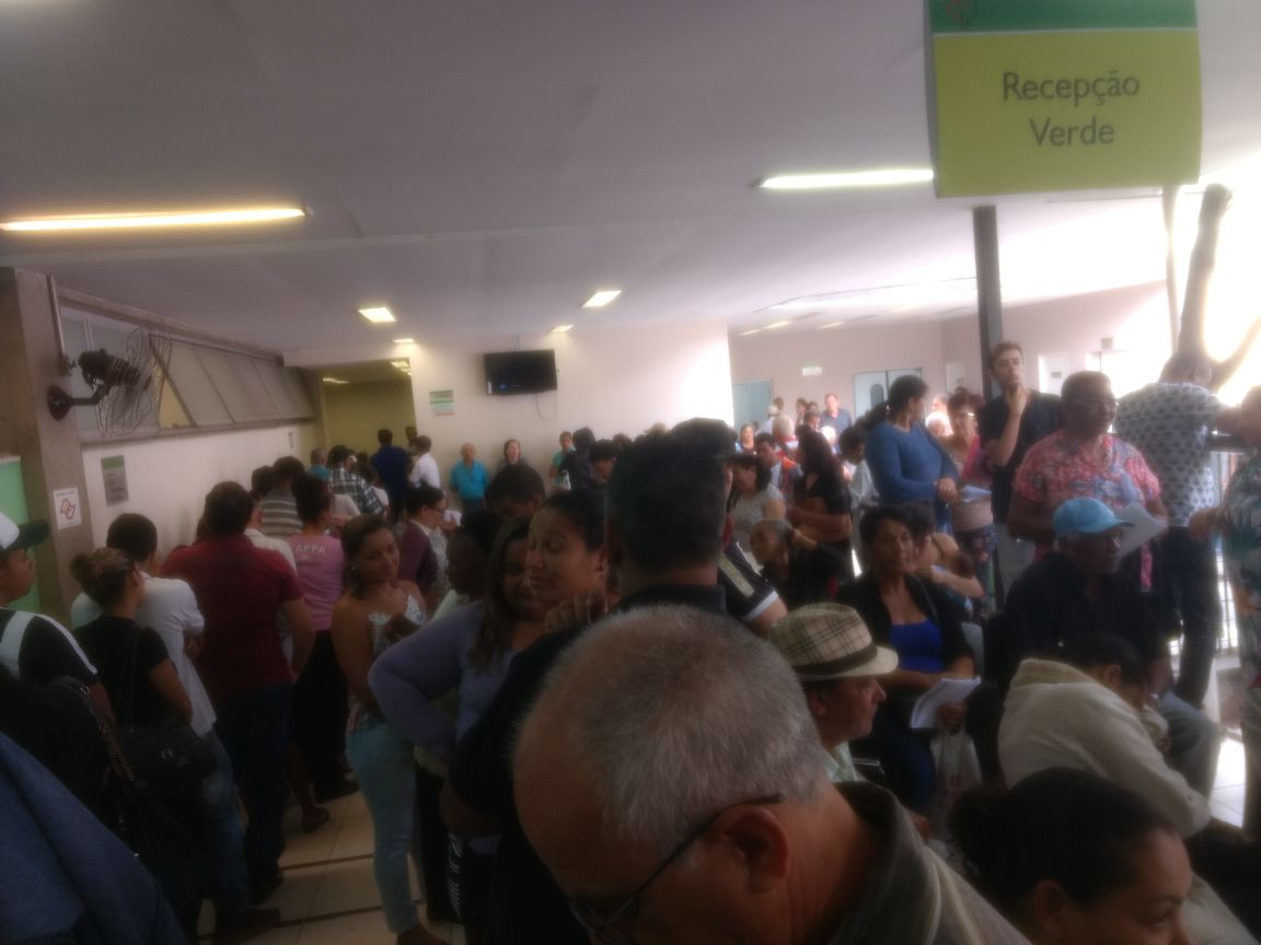 Reclame Aqui > Hospital Geral de Pirajussara - Vergonha do